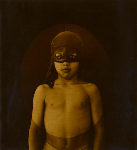 Luis Gonzalez Palma, Gustavo, 2000, Hand-varnished gelatin silver print, 21 x 19 1/2 inches, Edition 11/15, Signed, titled, dated & numbered in ink on verso