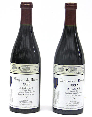 Hospices de Beaune, Beaune, Cuvée Clos des Avaux 1995 (12)
