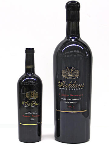 Baldacci Cabernet Sauvignon 2000 (9)<BR />Baldacci Cabernet Sauvignon 2001 (3L)