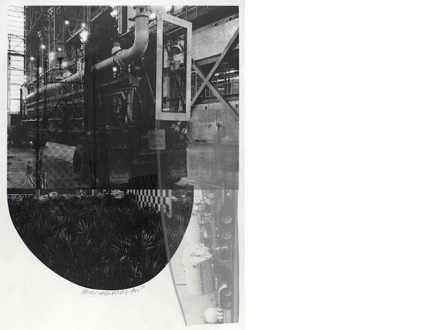Robert Rauschenberg, Tracks (F.100), 1970;
