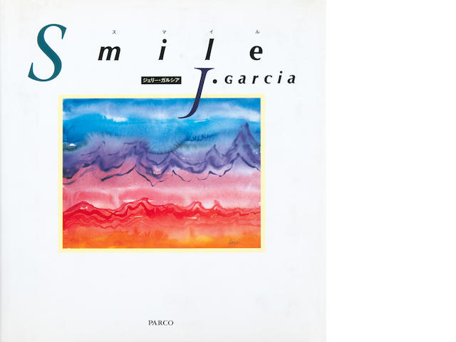 Smile, a Japanese version of Jerry Garcia's art book, signed by Jerry