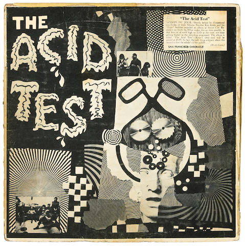 The Grateful Dead Acid Test LP, San Francisco, ca. 1965