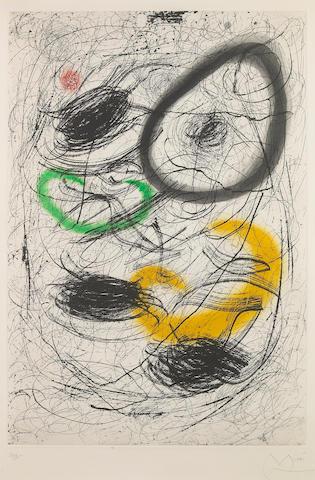 Joan Miró (Spanish, 1893-1983); La Chevelure de Bérénice II;