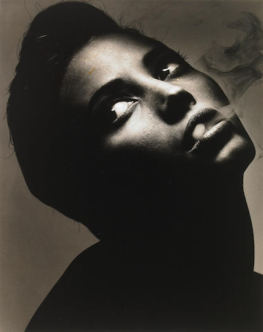 Albert Watson (Scottish, born 1942); Christy Turlington, New York City;