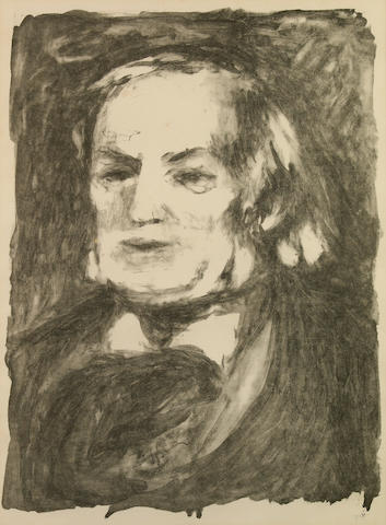 Pierre-Auguste Renoir (French, 1841-1919); Richard Wagner;