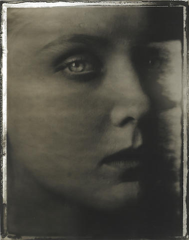 Sarah Moon (France, born 1941) Julie Stouvenel, 1989, Gelatin silver print, 20 x 24 inches, Signed in pencil on verso, Edition 7/20