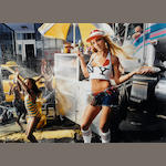 David LaChapelle (American, born 1964); Britney Spears with Hot Dog, San Diego;