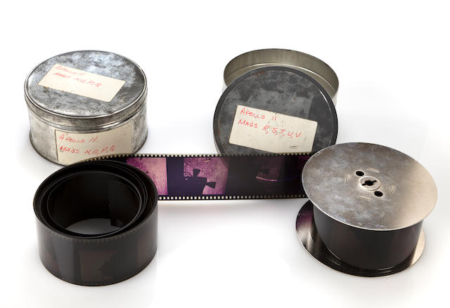 Apollo 11 film canisters