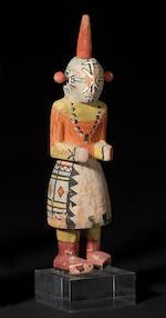 A Hopi kachina doll