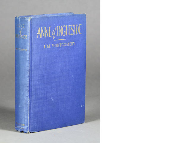MONTGOMERY, LUCY MAUD. 1874-1942. Anne of Ingleside. Toronto: McClelland & Stewart, [1939].