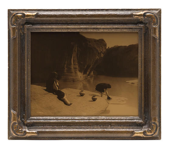 Edward S. Curtis (American, 1868-1952); At the Old Well of Acoma;