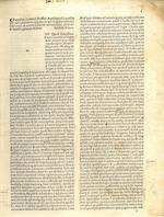 JEROME, SAINT. 340?-420. Epistolae. WITH: LUPUS DE OLIVETO. Regula monachorum ex Epistolis Hieronymi excerpta. Venice: Johannes Rubeus Vercellensis, January 7, 1496, July 12, 1496.