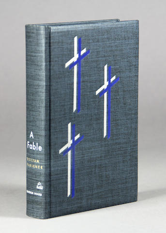 FAULKNER, WILLIAM. 1897-1962. A Fable. New York: Random House, 1954.