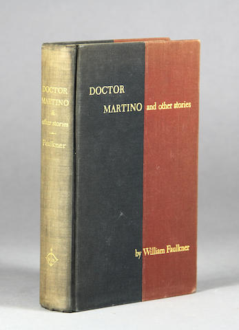 FAULKNER, WILLIAM. 1897-1962. Doctor Martino and Other Stories. New York: Harrison Smith and Robert Haas, 1934.