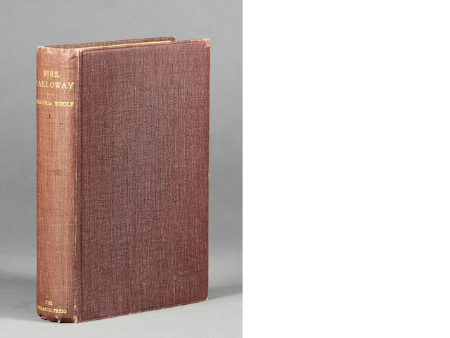 WOOLF, VIRGINIA. 1882-1941. Mrs. Dalloway. London: The Hogarth Press, 1925.