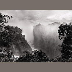 Sebastião Salgado Victoria Falls, Zimbabwe, 2008, Gelatin silver print, 20 x 24 inches; Signed, titled & dated in ink on verso with the photographer's embossed stamp on recto, 08-1-12/52