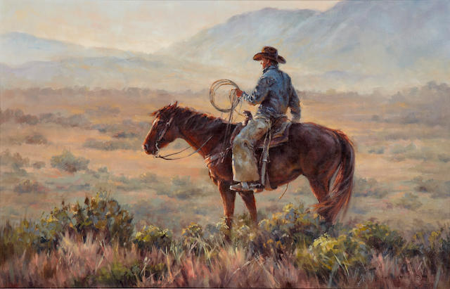 Shawn Cameron (American) Mesa Morning 22 x 34in
