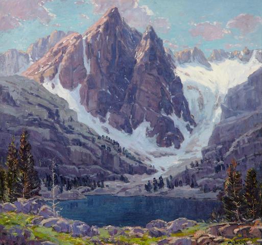 John Modesitt (American, born 1955) Temple Crag, Sierras 30 x 32in