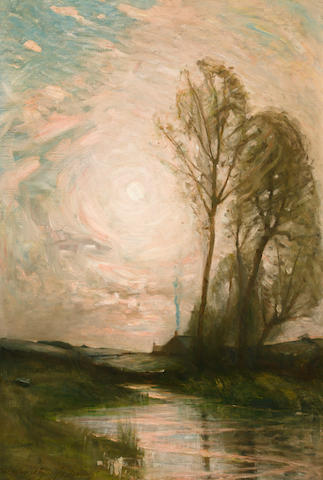 Charles Melville Dewey, N.A., Early Evening, 35 x 24, o/c