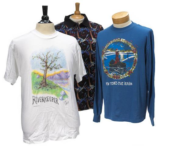 Grateful Dead Merchandising and J. Garcia Design