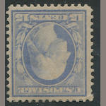 5c pale ultramarine on bluish (366) glazed o.g., almost very fine. $1,250.00
