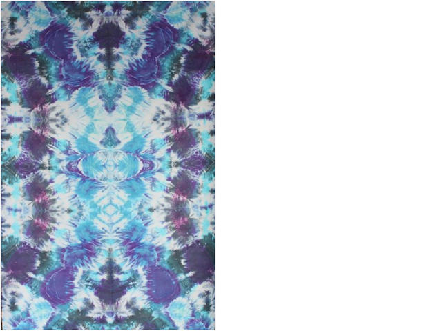 "Courtenay Pollock Tie-Dye art, ""Ascension"""