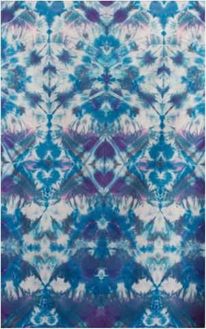 "Courtenay Pollock Tie-Dye art, ""Multiverse Abstractions"""