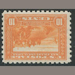 10c Panama-Pacific perf 10 (404) fresh, o.g., almost very fine. $725.00