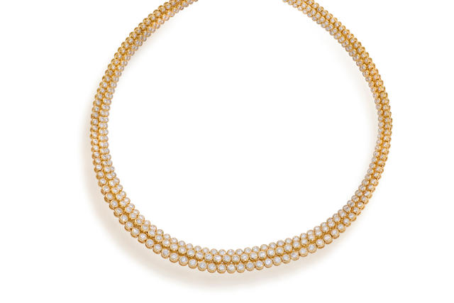 A diamond necklace, Oscar Heyman & Brothers,