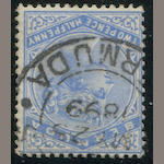 1920 2 1/2p ultramarine watermark reversed (38, S.G. 27bw) c.d.s. cancel, fine. S.G. L180
