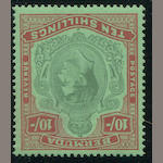 Bermuda, 1938-53 10sh green & deep lake (S.G. 119) good margins all round, o.g., very fine. S.G. £450