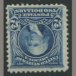 $2.00 dark blue (312) o.g., fine copy. $875.00