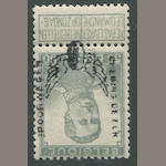 Belgium, 5c-50c Parcel Post & Railway Stamps 5c, 20c, 25c, 50c, overprint forgeries of nos. Q49, 53, 54, 57, $1,300.00 as genuine. Est. Cash Value $100-120