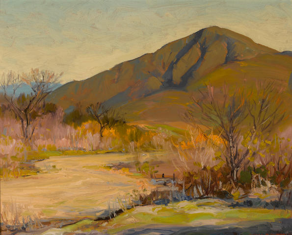 Alfred R. Mitchell (American, 1888-1972) San Miguel Mountains 16 x 20in
