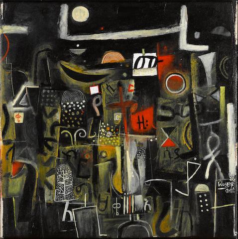 Wosene Worke Kosrof (Ethiopian/American, born 1950) Midnight Improv III