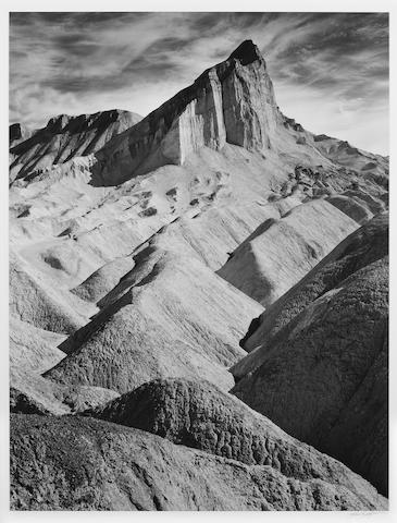 Ansel Adams (American, 1902-1984); Manley Beacon, Death Valley National Park, California;