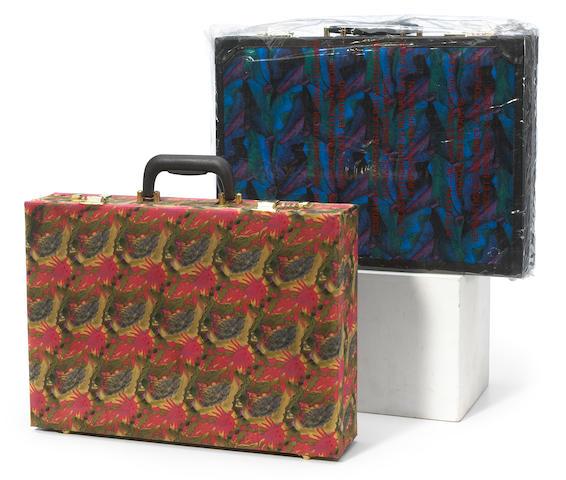 J. Garcia Design briefcase, one sample, one prototype