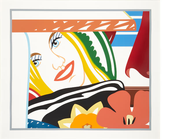 Tom Wesselmann (American, 1931-2004); From Bedroom Painting #41;