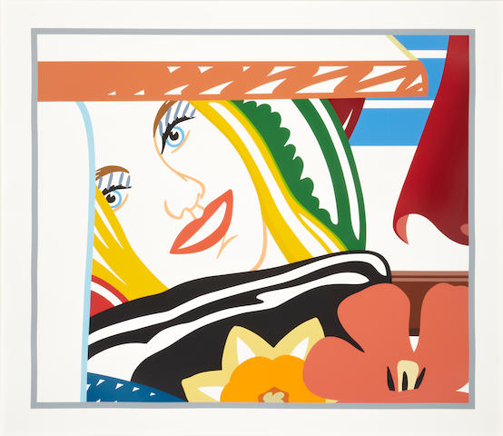 Tom Wesselmann (American, 1931-2004); From Bedroom Painting #41;