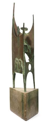 An Eldon Danhausen bronze sculpture 1960s