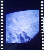 SKYLAB 4 ON-BOARD COLOR PHOTOGRAPY.  70 mm film roll over 20 feet in length stored in a 4 inch diameter metal cylinder.