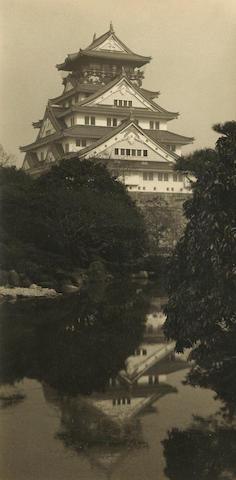 Ogawa Gesshu (Japanese, 1891-1967); Osaka Castle;