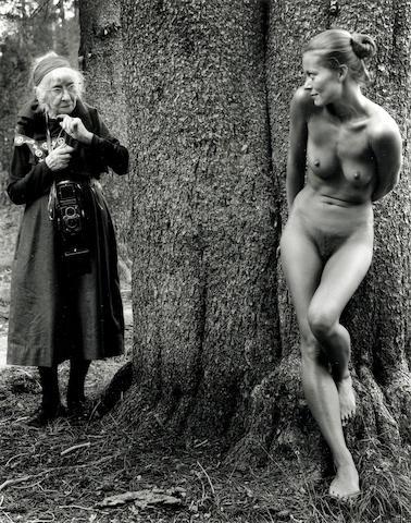 Judy Dater (American, born 1941); Imogen and Twinka at Yosemite;