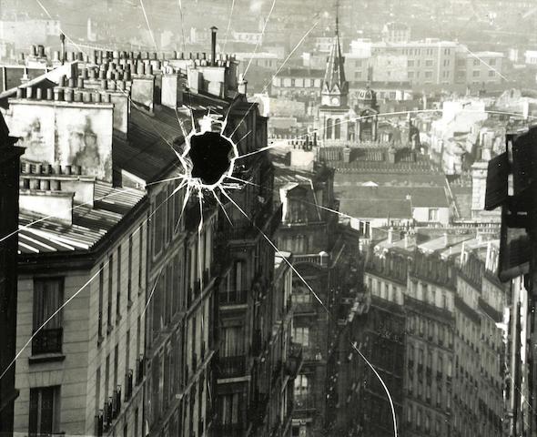 André Kertész (Hungarian/American, 1894-1985); Broken Plate, Paris;
