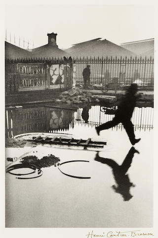 Henri Cartier-Bresson (French, 1908-2004); Behind the Gare Saint-Lazare, Paris;