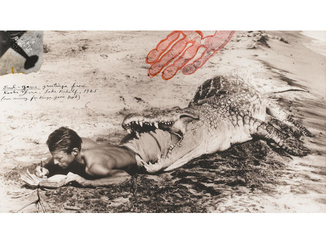 Peter Beard (American, born 1938); I'll Write Whenever I can;