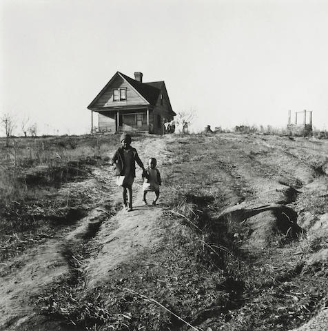 Marion Post Wolcott (American, 1910-1990); Tenant Farmer's Children, Younger One with Rickets from Malnutrition, Wadesboro, N.C.;