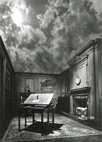 Jerry Uelsmann (American, born 1934); Untitled (Philosopher's Study);