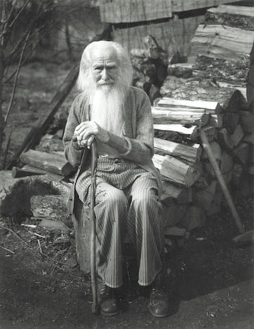 Imogen Cunningham (American, 1883-1976); My Father at Ninety;