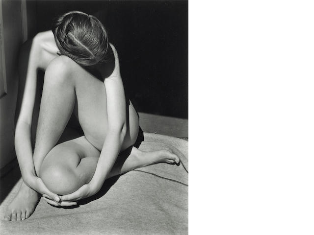Edward Weston (American, 1886-1958); Nude;